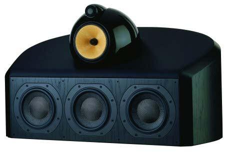 Акустическая система B&W HTM1 D Black Ash (B&W)