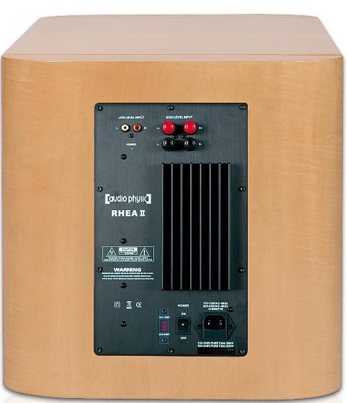 Сабвуфер Audio Physic RHEA II Lack BLACK or WHITE (Audio Physic)