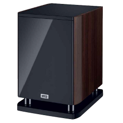Сабвуфер HECO Music Style Sub 25A Piano Black/Espresso (HECO)