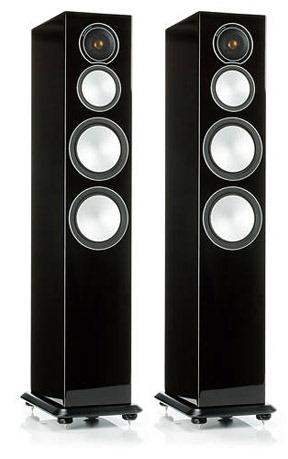 Акустическая система Monitor Audio Silver 8 Black Gloss (Monitor Audio)