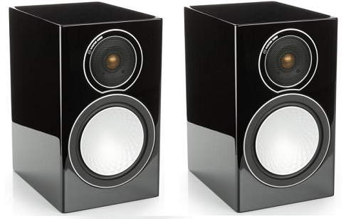 Акустическая система Monitor Audio Silver 1 Black Gloss (Monitor Audio)