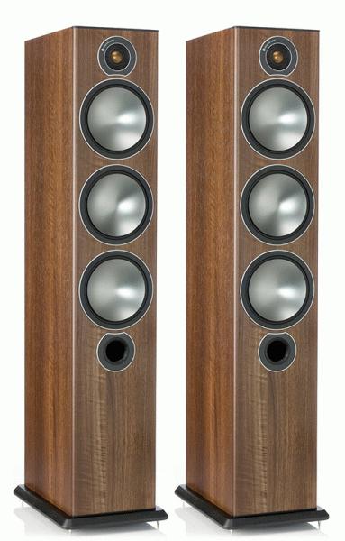 Акустическая система Monitor Audio BRONZE 6 walnut (Monitor Audio)