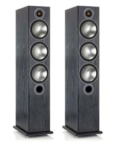 Акустическая система Monitor Audio BRONZE 6 black oak (Monitor Audio)