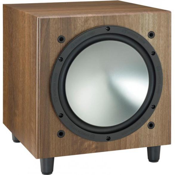 Сабвуфер Monitor Audio BRONZE W10 walnut (Monitor Audio)