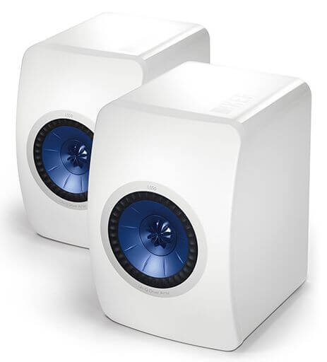 Speaker system KEF LS50 High Gloss Piano White