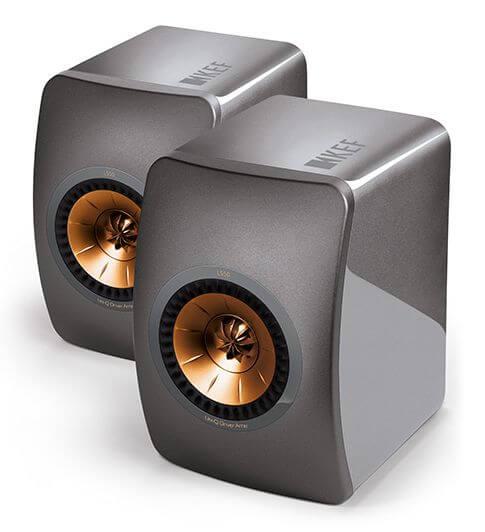 KEF LS50 Titanium Gray acoustic system