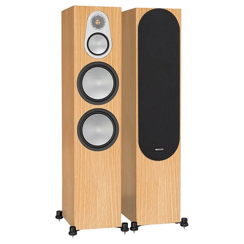 Акустическая система Monitor Audio Silver Series 500 Black Natural Oak (Monitor Audio)