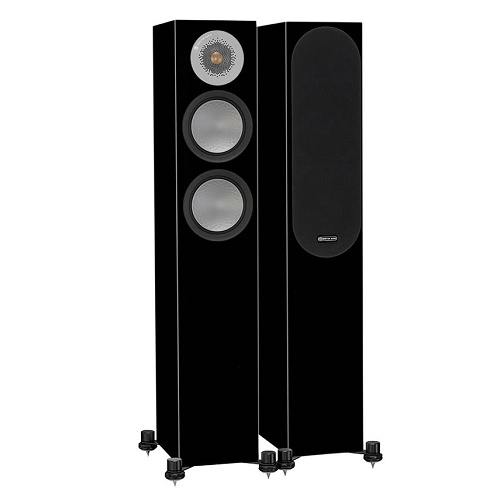Акустическая система Monitor Audio Silver Series 200 Black Gloss (Monitor Audio)