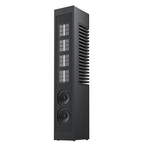 Акустическая система PIEGA Master Line Source 2 baffle anodised black, high-gloss black (PIEGA)