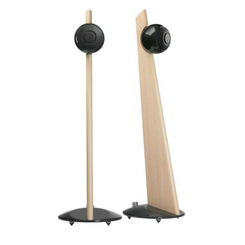 Акустическая система Акустическая пара: Cabasse IO 2 stand version Light-Oak/Glossy Black (Cabasse)