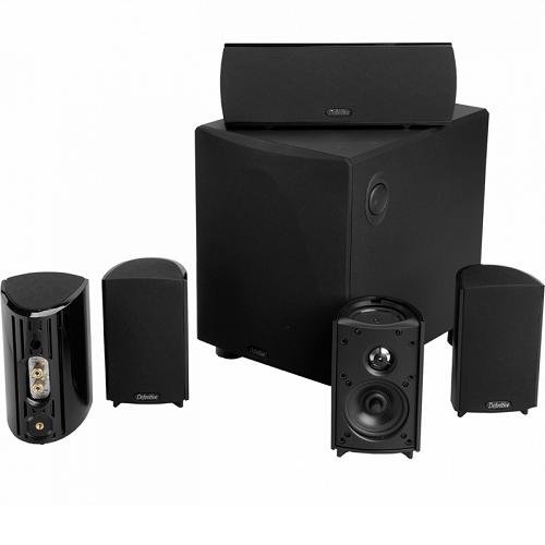 Акустическая система Комплект акустики: Definitive Technology ProCinema 600 Black (Definitive Technology)