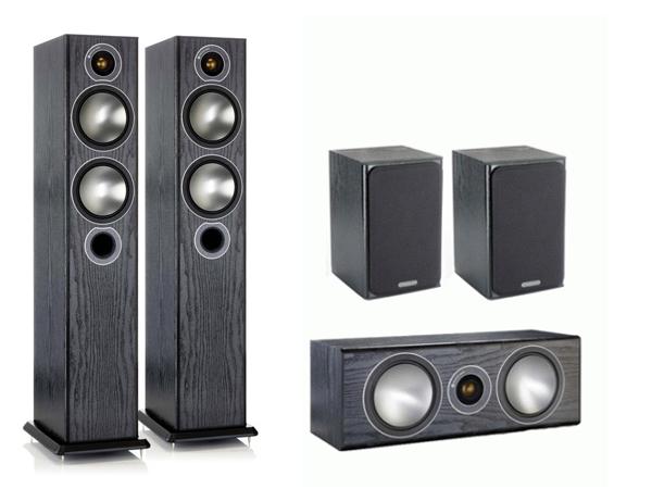 Комплект акустики 5.0 Monitor Audio Bronze 5 set black (Monitor Audio)