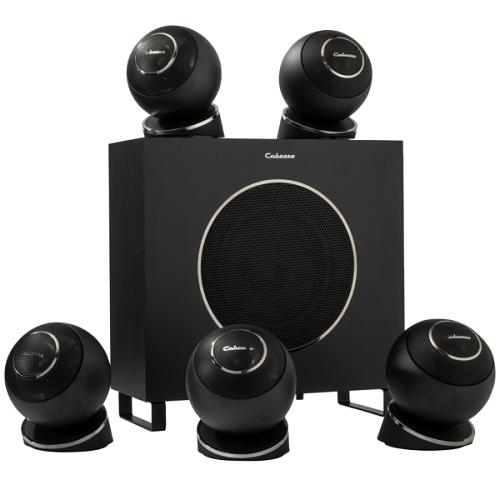 Комплект акустики: Cabasse Eole 4 5.1 System WS Glossy Black