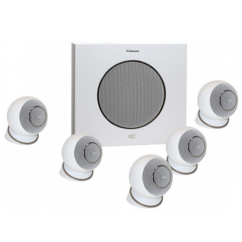 Комплект акустики: Cabasse Eole 4 5.1 System WS Glossy White