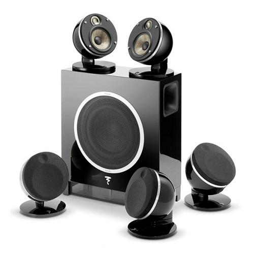 Комплект акустики Focal Dome PACK 51 FLAX ET SUB AIR Black (Focal)
