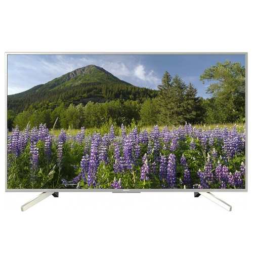 "Телевизор 55"" Sony KD55XF7077SR2  LED UHD  Smart SILVER"