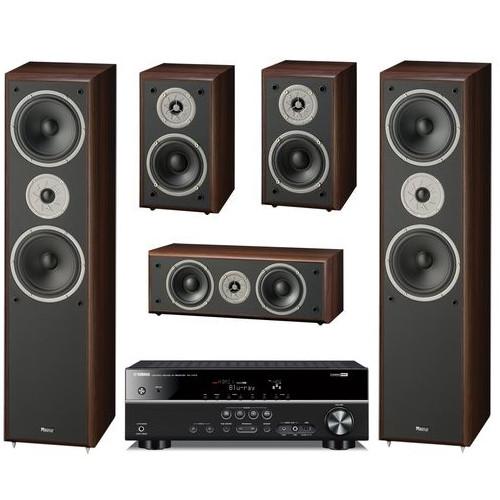 Домашний кинотеатр Акустика 5.0 Magnat Monitor Supreme 802 + AV-ресивер Yamaha RX-V379 (Magnat)