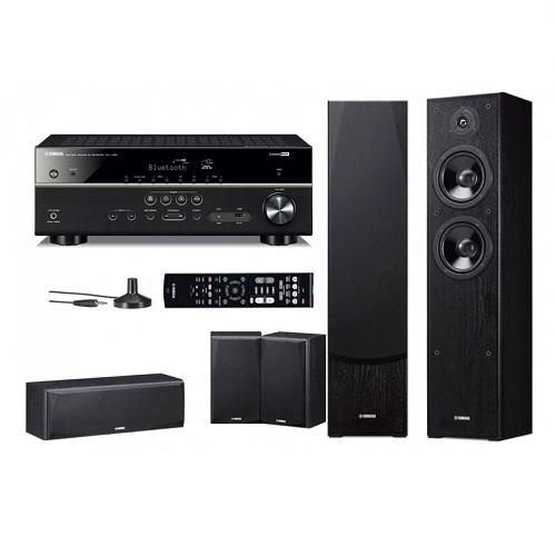 Домашний кинотеатр Yamaha Kino SYSTEM 385 (RX-V385 + NS-F51 + NS-P51) Black (Yamaha)