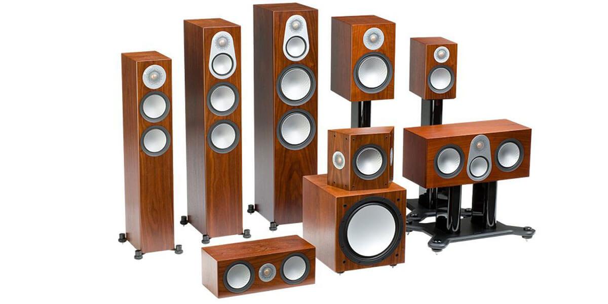 Звук без потерь в Silver Monitor Audio