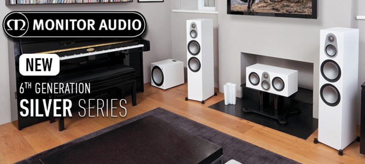 Шестое обновление знаменитой линейки акустики Silver от Monitor Audio